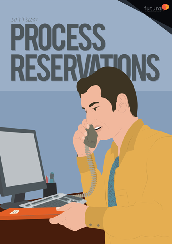 SITTTSL007 Process Reservations